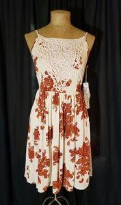 NWT Taylor & Sage Boho Crochet Bust Dress